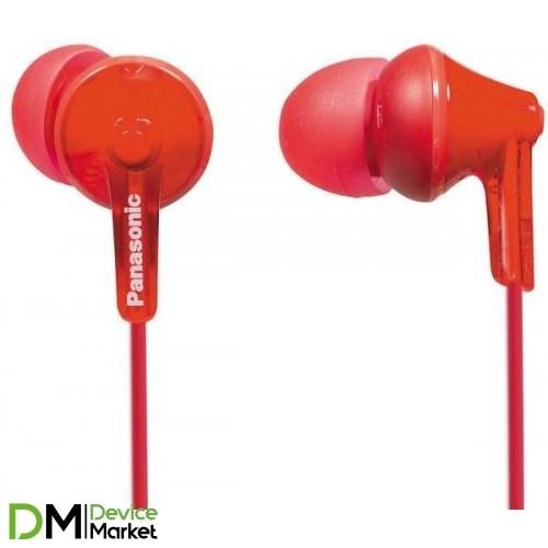 Panasonic RP-HJE125E-R Red