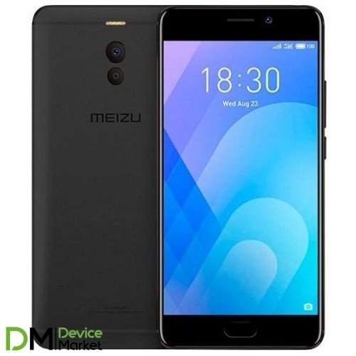 Meizu M6 Note 3/16GB Black Global