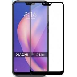 Защитное стекло Xiaomi Mi8 lite Black