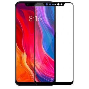 Защитное стекло Xiaomi Mi8 Black