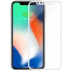 Защитное стекло Apple iPhone X/XS White