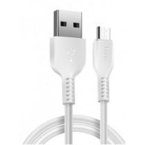Micro USB кабель HOCO X20 1M White