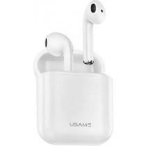 Usams Dual Wireless Bluetooth Sereo Headset White