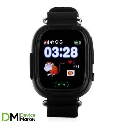 Smart Baby Watch Q80 Black