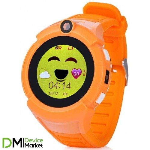 Smart Baby Watch Q620 Orange