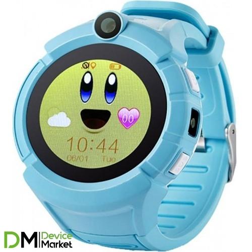Smart Baby Watch Q620 Light Blue