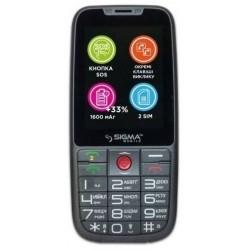 Sigma mobile Comfort 50 Elegance 3 Dual Sim Gray