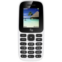 Телефон Fly FF183 White