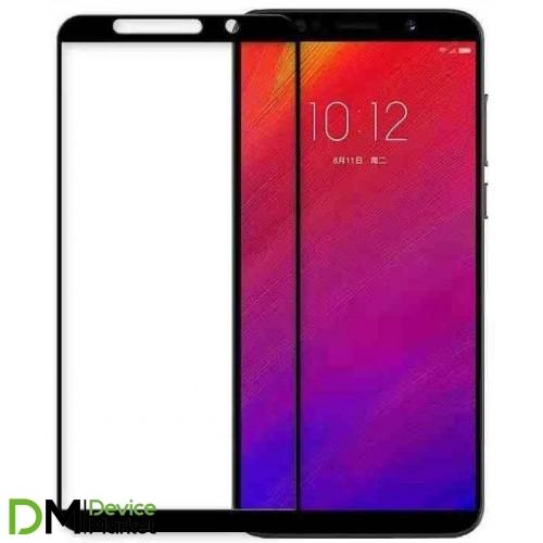 Защитное стекло для Lenovo A5 2018  Full cover black