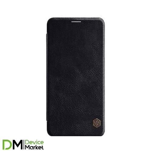 Кожаный чехол (книжка) Nillkin Qin Series для Samsung A9 (2018) A920 Black