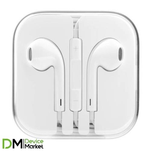 Гарнитура (HF) iPhone 5 White
