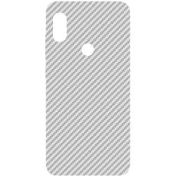 Carbon Fiber White Screen Protector Film For Redmi Note 5