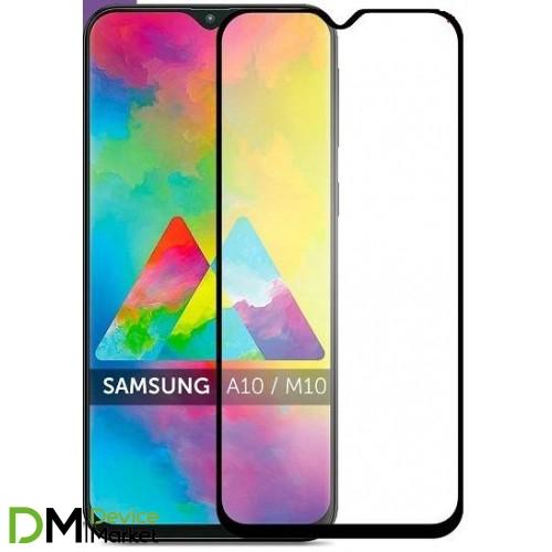 Защитное стекло Samsung A10/M10 Black