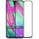 Защитное стекло Samsung A40 Black