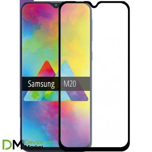Защитное стекло Samsung M20 (2019) M205 Black