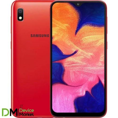 Samsung Galaxy A10 2019 SM-A105F 2/32GB Red (SM-A105FZRG) UA-UCRF