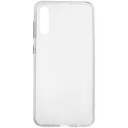 Силиконовый прозрачный чехол для Samsung Galaxy A50