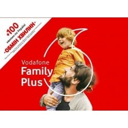 Стартовый пакет Vodafone Unlim 3G Plus Family