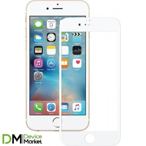 Защитное стекло IPhone 6 Plus White