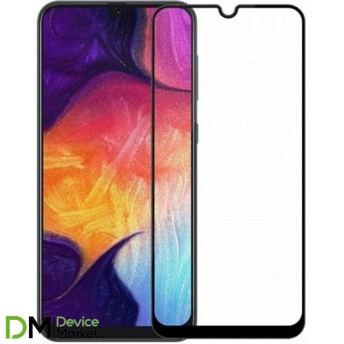 Защитное стекло для Samsung Galaxy A20/A30/A30/ A50/A50s/M30/M30s/M31/M21 Black Premium