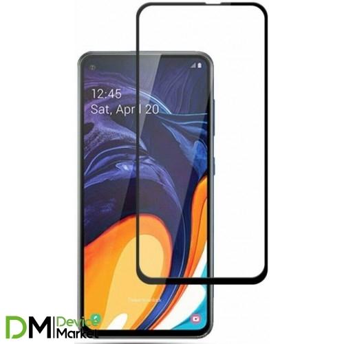 Защитное стекло Samsung A60 Black Premium