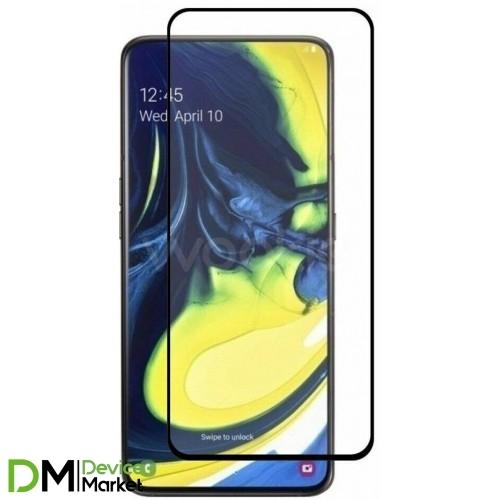 Защитное стекло Samsung A80 (A805) Black