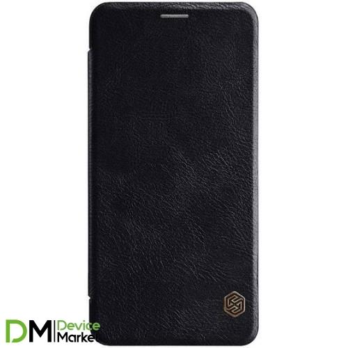 Кожаный чехол (книжка) Nillkin Qin Series для Samsung J810Black