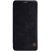 Кожаный чехол (книжка) Nillkin Qin Series для Samsung J530 Black