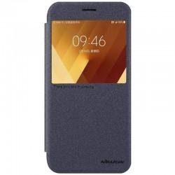 Чехол Samsung книжка A720 Black Nillkin