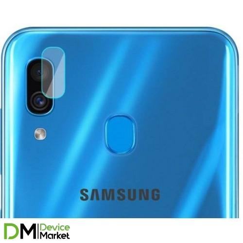 Защитное стекло для камеры Samsung A40