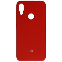 Silicone Cover Xiaomi Redmi Note 7 Red