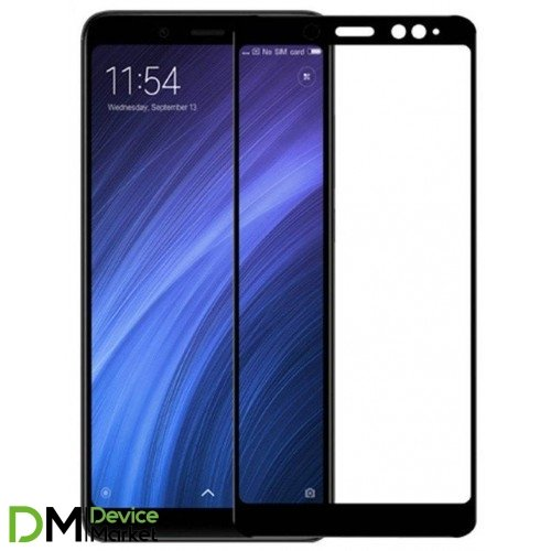 Защитное стекло Xiaomi Redmi Note 5 Black Premium