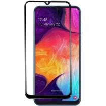 Захисне скло Samsung A10/M10 Black Premium