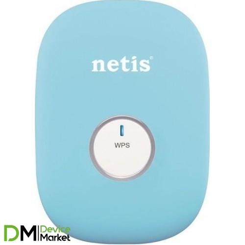 Wi-Fi Роутер Netis E1+ Blue Range Extender