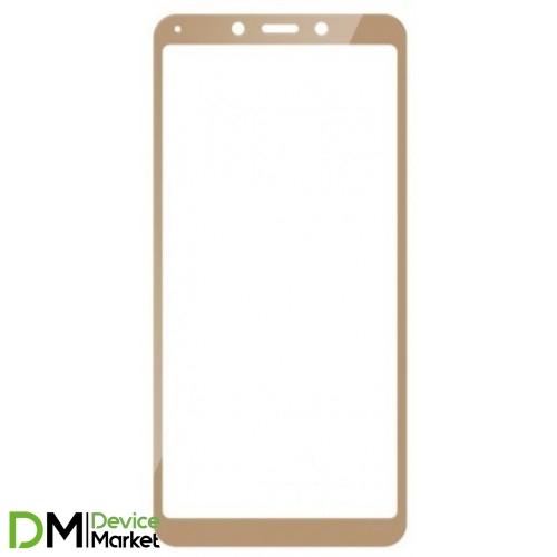 Защитное стекло Xiaomi Redmi 6/6A Gold