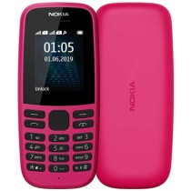 Nokia 105 Dual Sim 2019 Pink