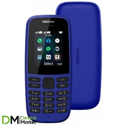 Nokia 105 Dual Sim 2019 Blue