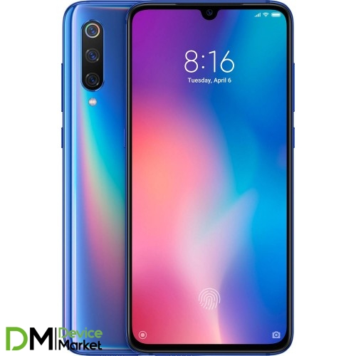 Xiaomi Mi9 6/128Gb Ocean Blue Global