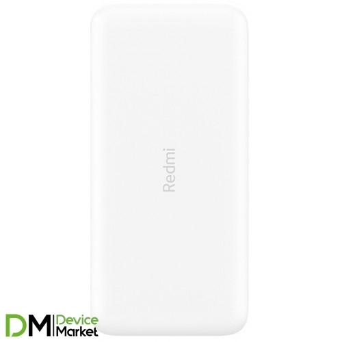 Power bank Xiaomi Redmi 20000mAh White VXN4285