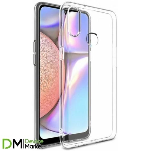 Чехол силиконовый для Samsung A10S A107 прозрачный