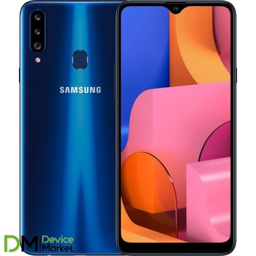 Samsung Galaxy A20s 2019 A207F 3/32GB Blue (SM-A207FZBD) UA-UCRF