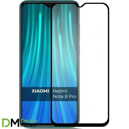 Защитное стекло Xiaomi Redmi Note 8 Pro Black Premium