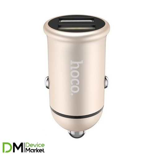 Hoco Z30 (2USB, 3.1A) Gold