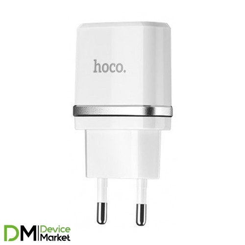 Hoco C12 2.4A/2  White