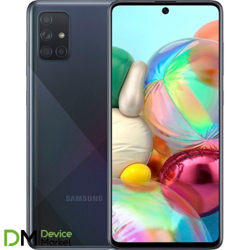 Samsung Galaxy A71 6/128GB Black (SM-A715FZKUSEK) UA-UCRF