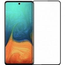 Защитное стекло Samsung A71/Note10 Lite/M51/M62 Black