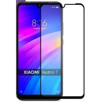 Защитное стекло Xiaomi Redmi 7 Black Premium