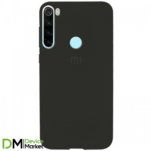 Silicone Case Xiaomi Redmi Note 8T Black