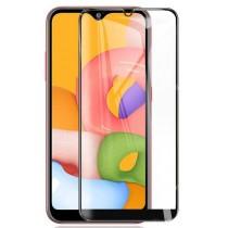 Защитное стекло Samsung A01 Black