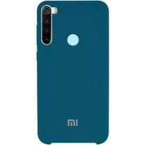 Silicone Case Xiaomi Redmi Note 8 Blue